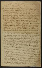 Letter Signed by Salomon Brann, 1846, and Unsigned Writings on the Talmud