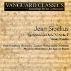 Sibelius: Symphonies No. 5, 6, & 7; Tone Poems, Vol. 2 (CD 1)