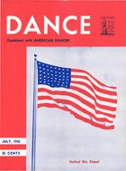 Dance Magazine, Vol. 15, no. 7, July, 1942, Dance combined with American Dancer, Vol. 15, no. 7, July, 1942