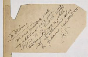 Letter from C. A. McIlvaine to Carlton Jackson with Enclosed Memorandum Giving a General Outline of Recruiting Operations and Care of Laborers During Construction Days, July 8, 1925