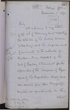 Memo from T. H. Sanderson to Under Secretary of State, Colonial Office, re: Despatches on Detained British Schooner