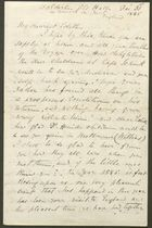 Letter from E. J Bakewell to Edith Thompson, December 31, 1885