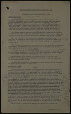 Disabled Persons Employment Corporation Progress Report, April 24, 1947
