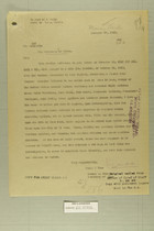 Letter from Newton D. Baker to the Secretary of State, Dec. 17, 1919