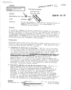 Anthony Lake to President Clinton re: Policy for Bosnia -- Use of U.S. Ground Forces to Support NATO Assistance for Redeployment of UNPROFOR Within Bosnia
