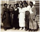 Address on the economic and occupational status of Negroes (the Elks' Educational and Economic Conference, D.C., Business and Professional women), 1935-1936