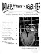 Native Playwrights' Newsletter, #12 Fall 1996
