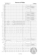 Danseuses de Delphes' from Préludes Book 1, arranged for Symphonic Band, L. 117