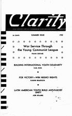 Clarity, Vol. 3 no. 3, Summer Issue, 1942