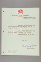 Letter from Agnes Robertson to S. S. Jenkins, April 3, 1956