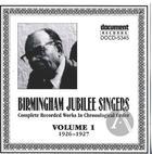 Birmingham Jubilee Singers Vol. 1 (1926-1927)