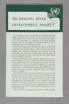 The Mekong River Development Project