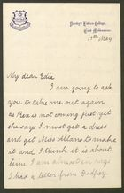 Letter from Ethel Anderson to Edith Thompson, May 17