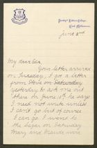 Letter from Ethel Anderson to Edith Thompson, June 2