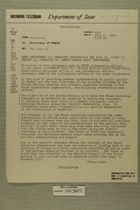 Telegram from William E. Cole, Jr. in Jerusalem to Secretary of State, July 21, 1954