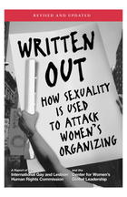 Written Out: How Sexuality is Used to Attack Women's Organizing