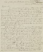 Copy of Letter from Mr. Donaldson, February 19, 1844