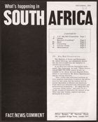 What's Happening In South Africa, December 1964 (Pg.Int.Ab.3.Vii)