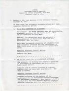 Agenda: Advisory Council Meeting, Executive Office Building Room 415, Tuesday, June 4, 1968
