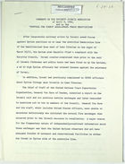 Memo re: Security Council Resolution of April 9, 1962; Proposal for Direct Arab–Israel Peace Negotiations, n.d.