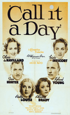 Call It a Day (1937): Shooting script