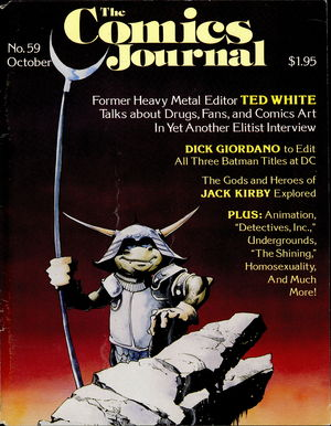 The Comics Journal, no. 59
