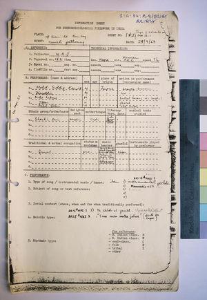 1-4-84 Information Sheets