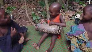 Bayaka Shorts - Bayaka children playing geedal