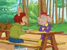 Arthur, Season 16, Episode 9, Fern and the Case of the Stolen Story/Sue Ellen Vegges Out