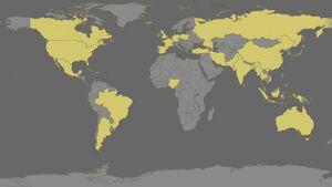 Global food imbalances, 21st century