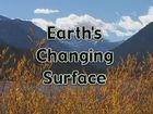 Geologic History, Earth's Changing Surface